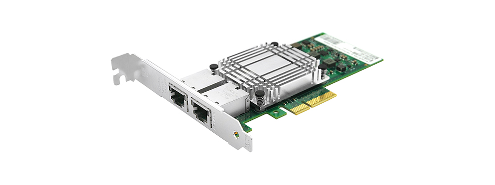 Uptimed 10G Server Dual Port RJ45 met Intel X550 Chipset