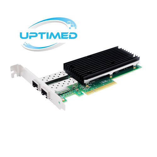 Uptimed 25G Server Dual Port SFP28 Netwerkkaart met Intel® XXV710 Chipset